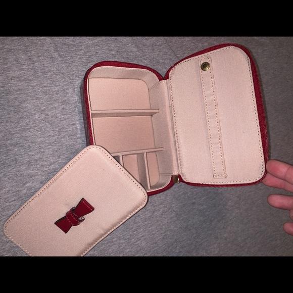 Coach Handbags - Coach red leather jewelry box